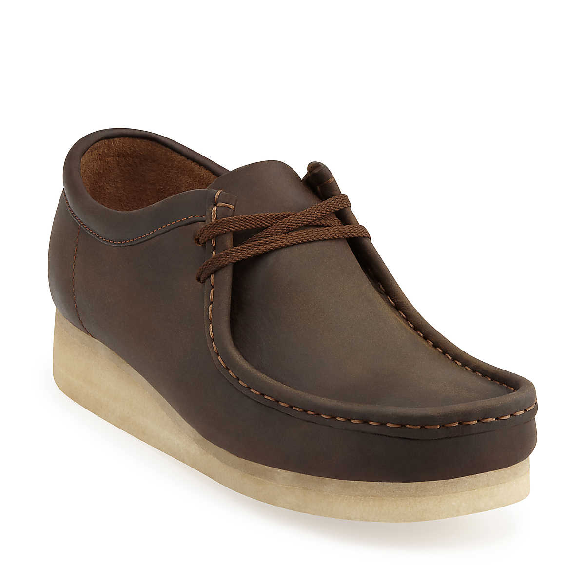 Preorder Clarks Wallabee Beeswax Leather Low 37989