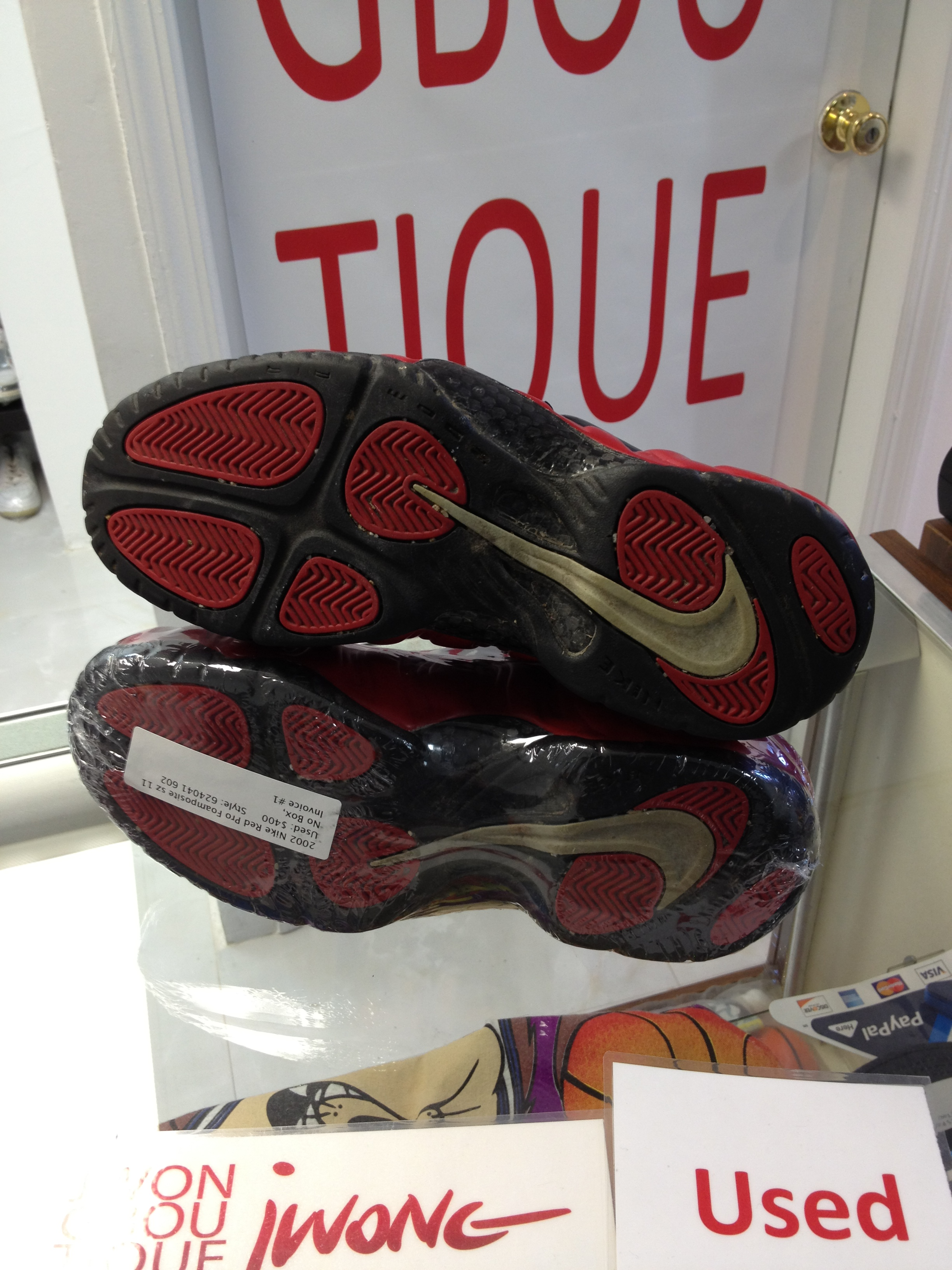 a5715009f16 2002 Nike Air Red Pro Foamposite