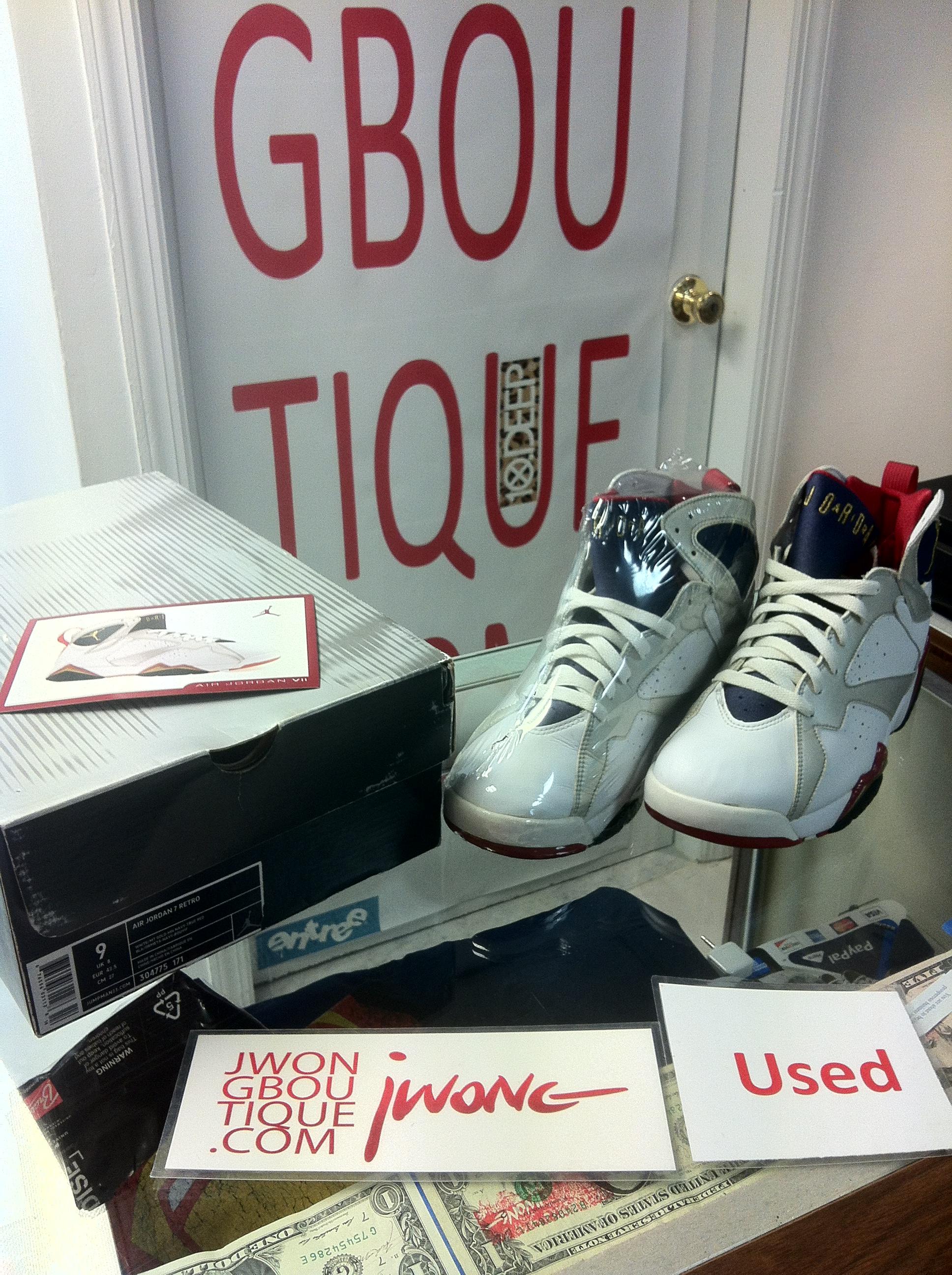 c4672921074d 2004 Nike Air Jordan VII Olympic