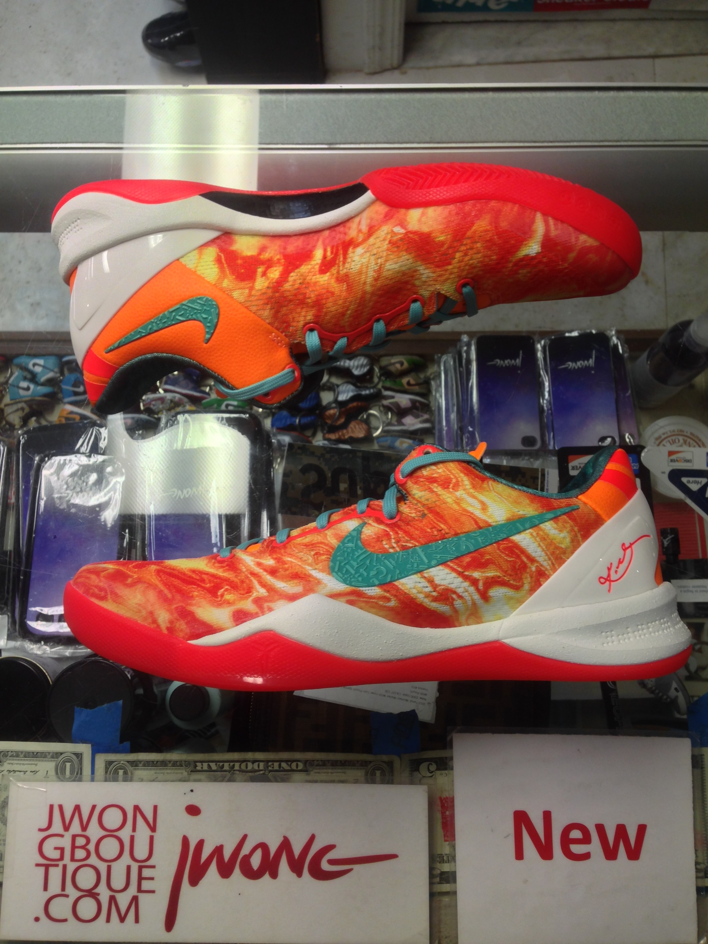 97642028f5a2 2013 Nike Kobe 8 VIII System All Star Area 72 Men