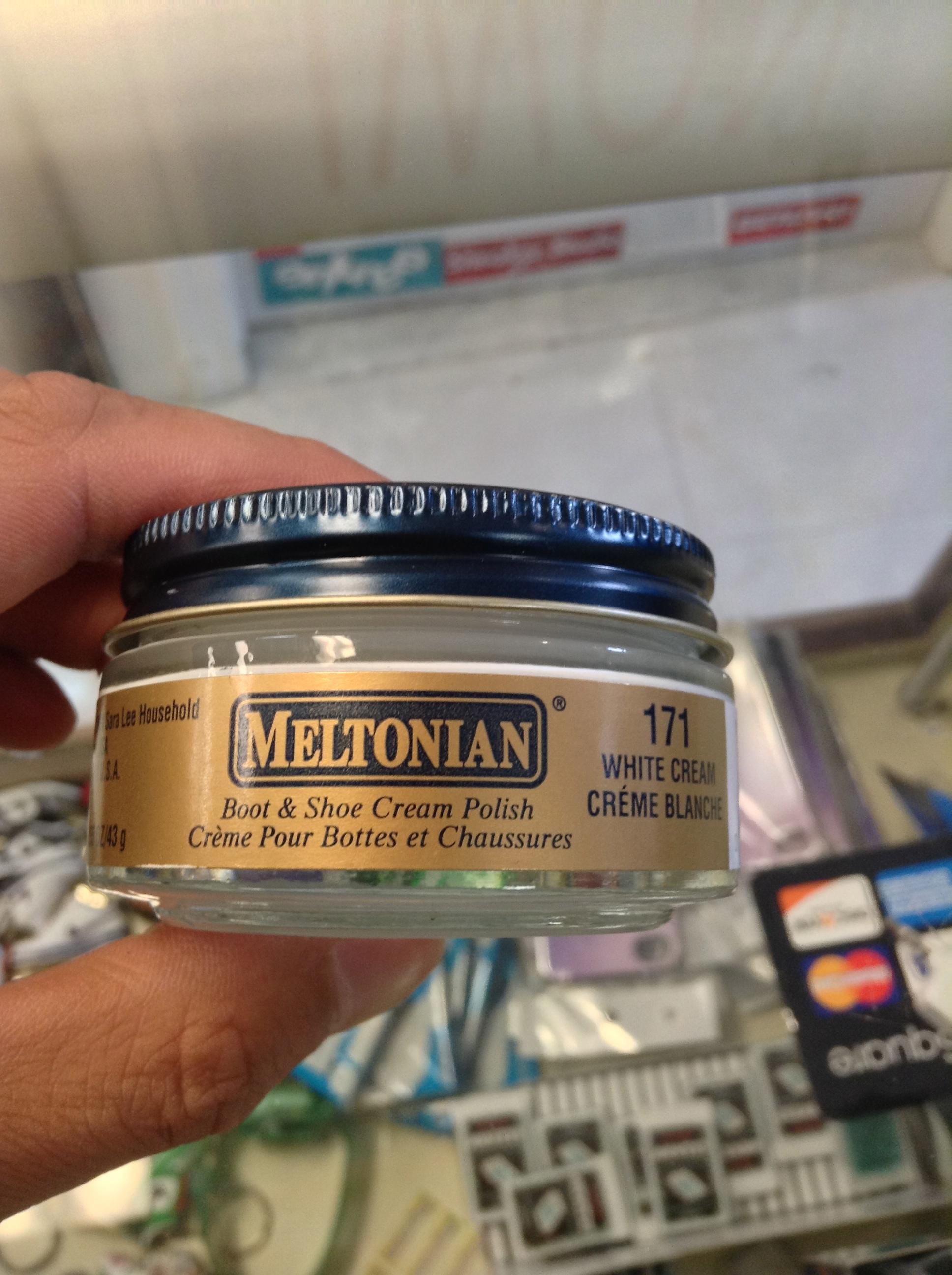 f03777cabee75 Meltonian Boot & Shoe Cream Polish White #171