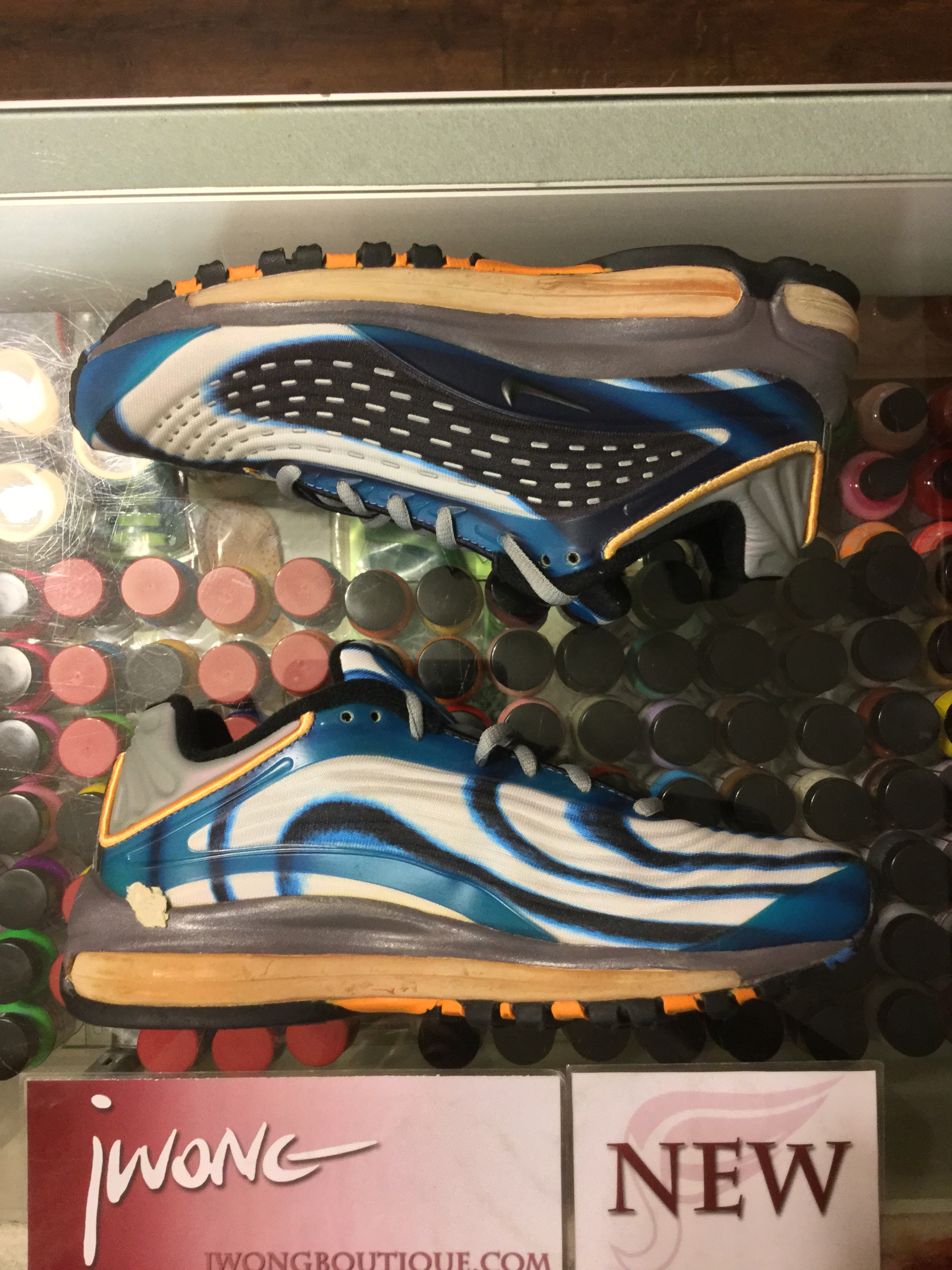 136fa453e205 2000 Nike Air Max Deluxe Antarctic Orange