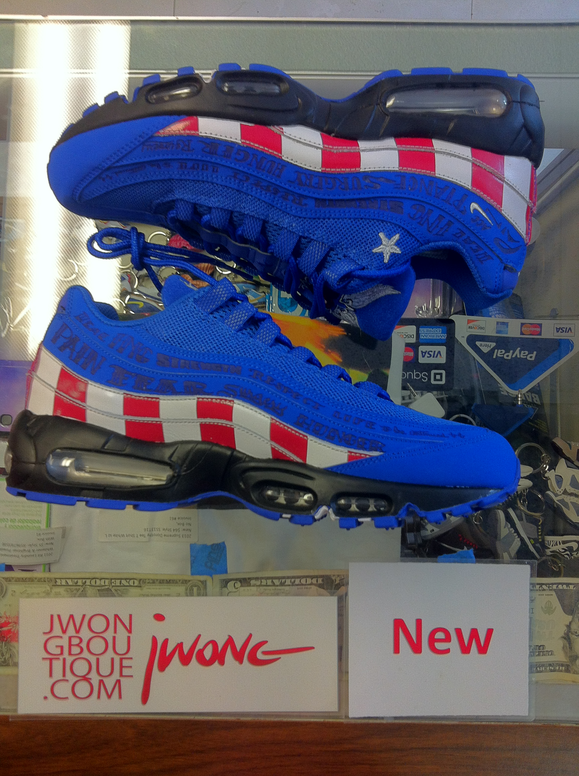 sports shoes d653c 94a3e ... promo code for 2013 nike air max 95 le doernbecher mike f828e 865b9