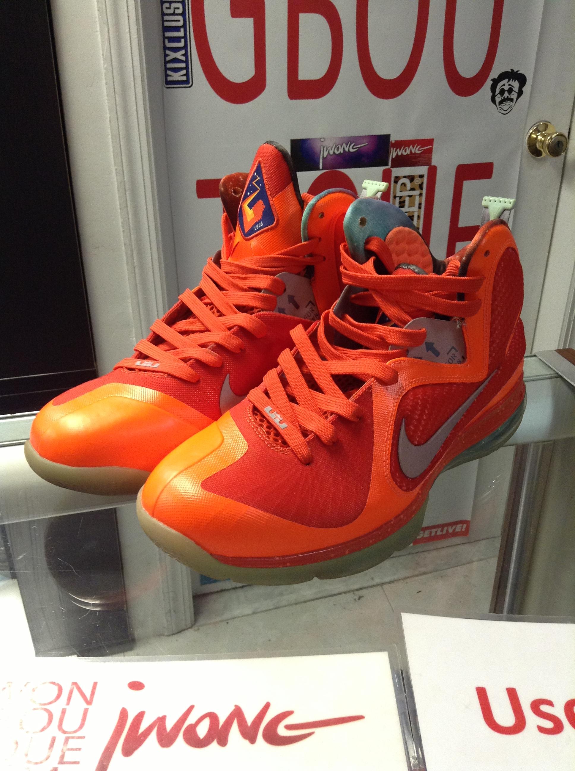 7f50ecb10055 2011 Nike Lebron 9 Galaxy Big Bangs
