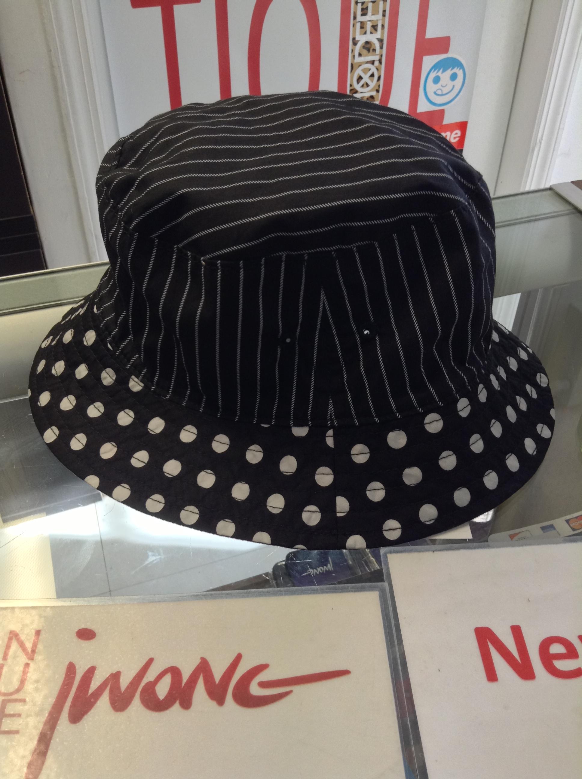 2014 Supreme Cdg Main Crusher Black Bucket Hat Jwong
