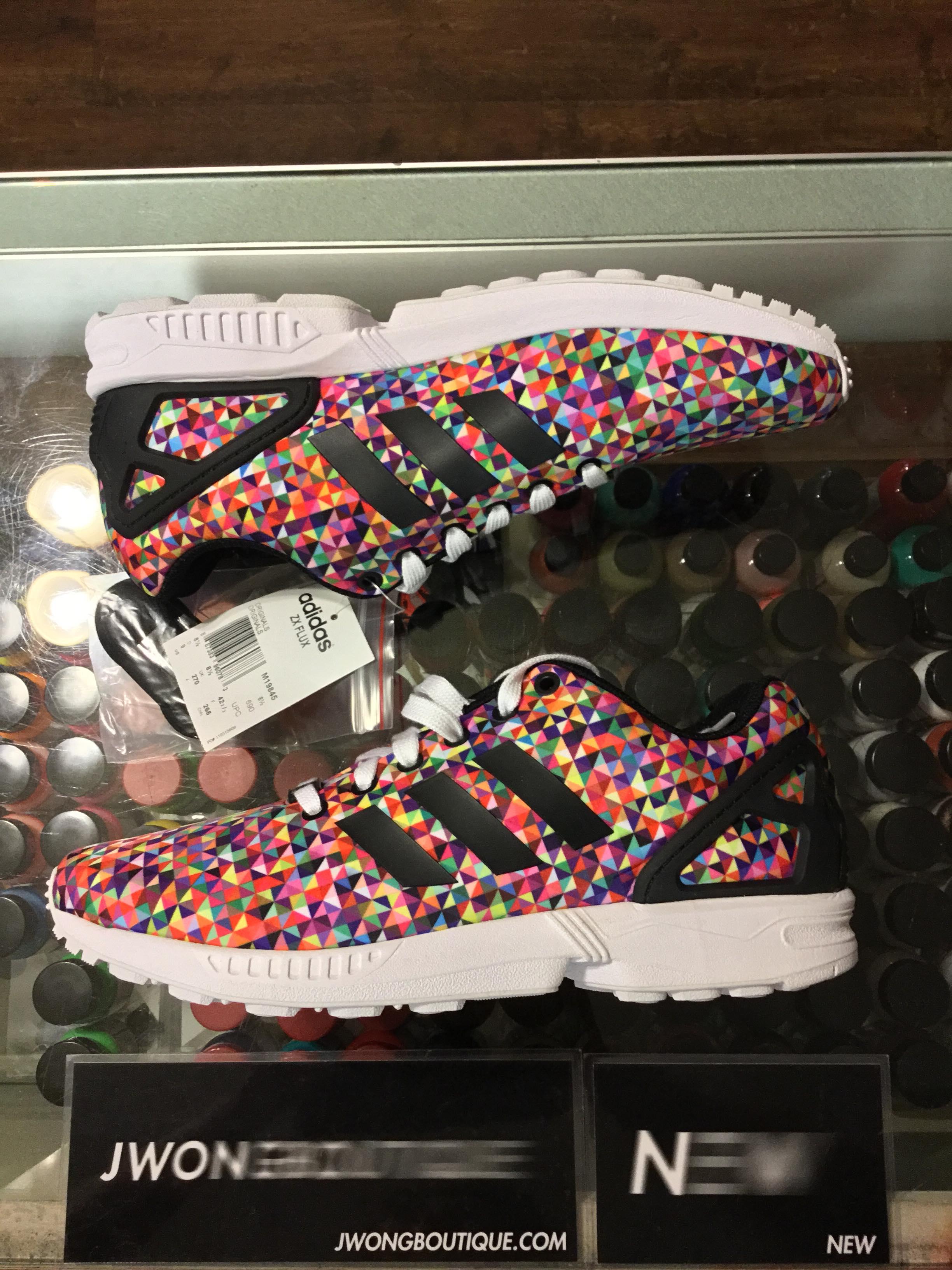 0a33209fe 2014 Adidas ZX Flux Prism Multi Color Men