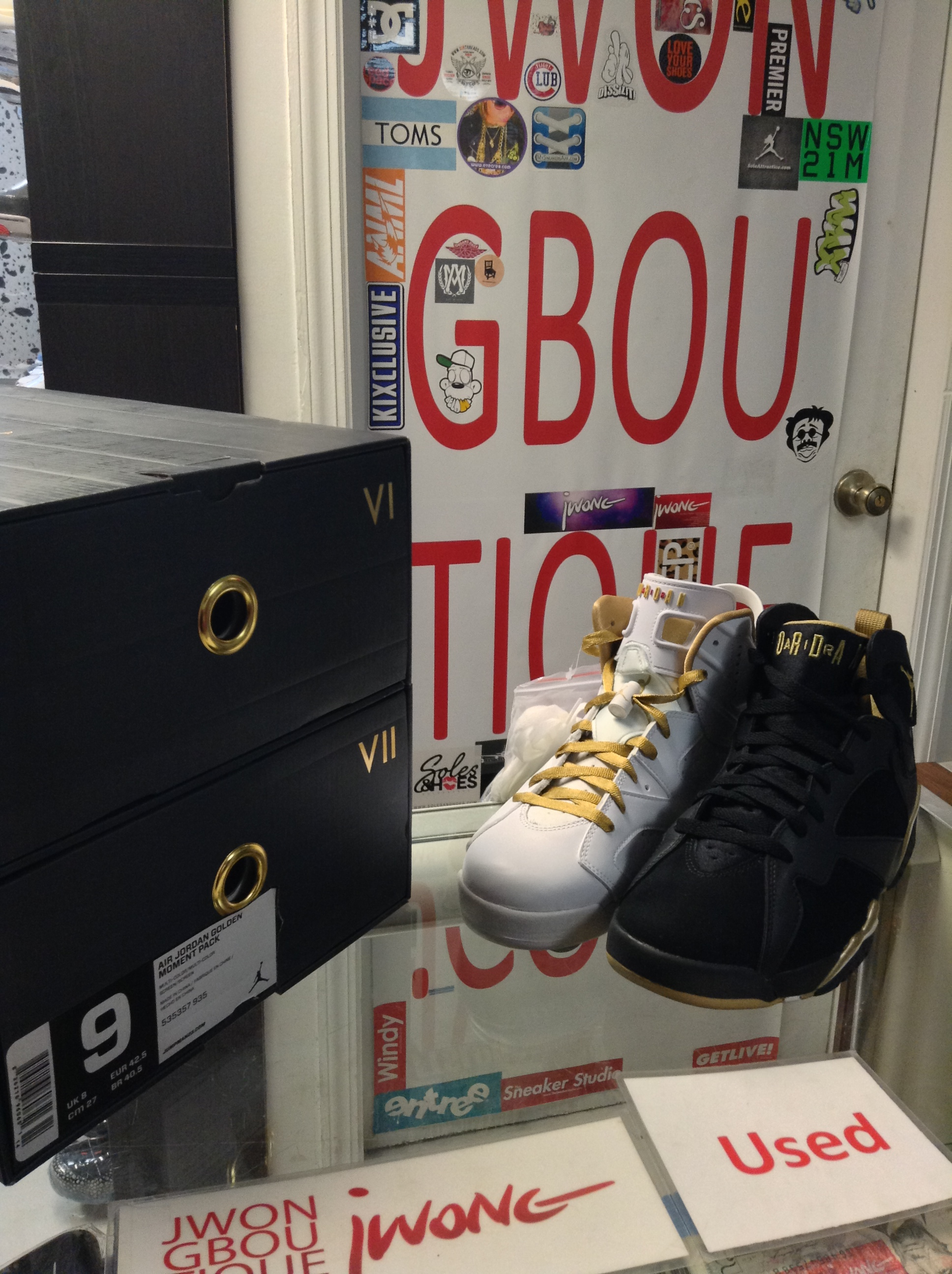 best cheap 3c5c3 c7d45 2012 Nike Air Jordan VI VII GMP Golden Moment Pack