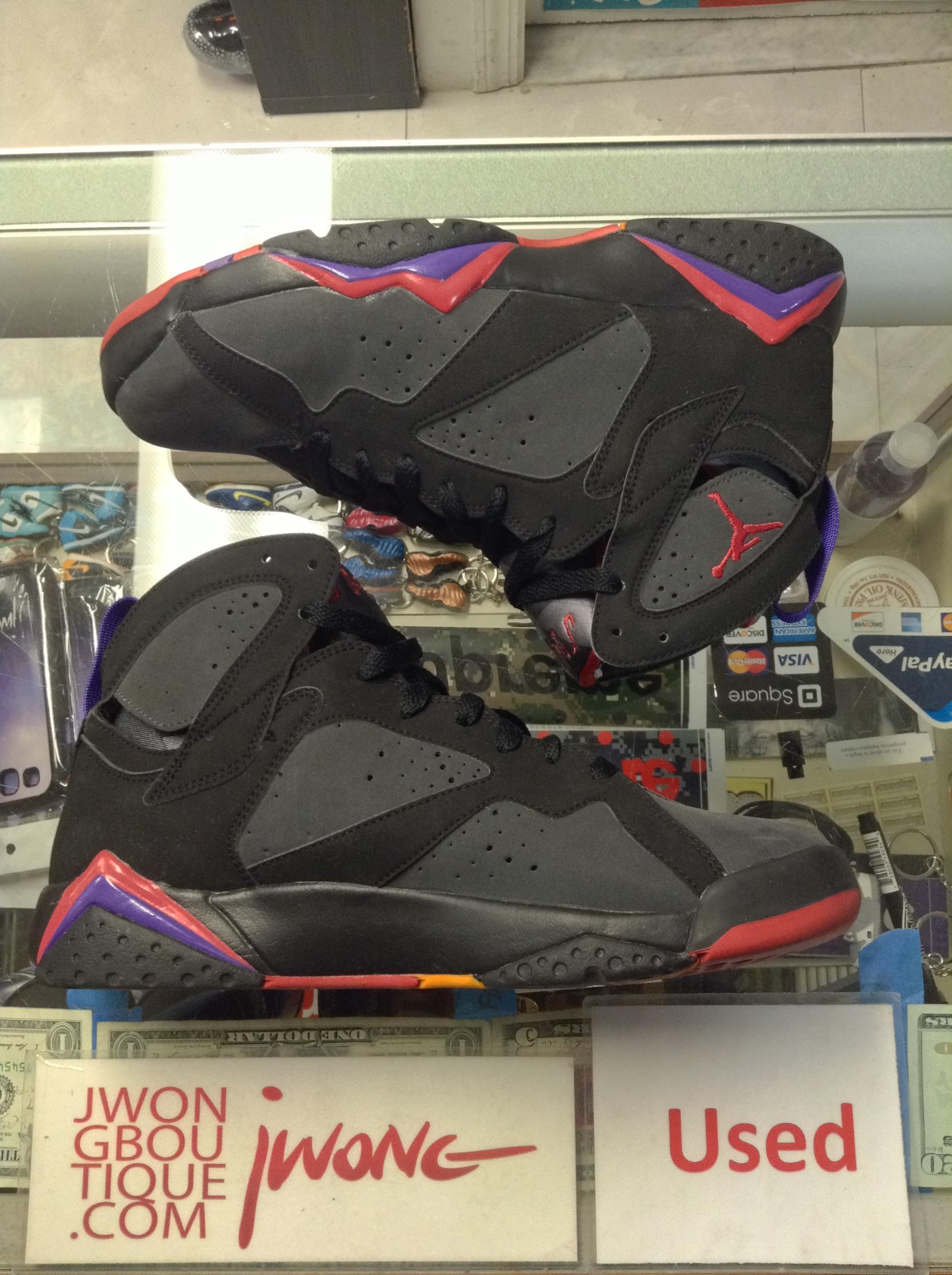 ef2bddab58a811 2009 Nike Air Jordan VII Raptor DMP