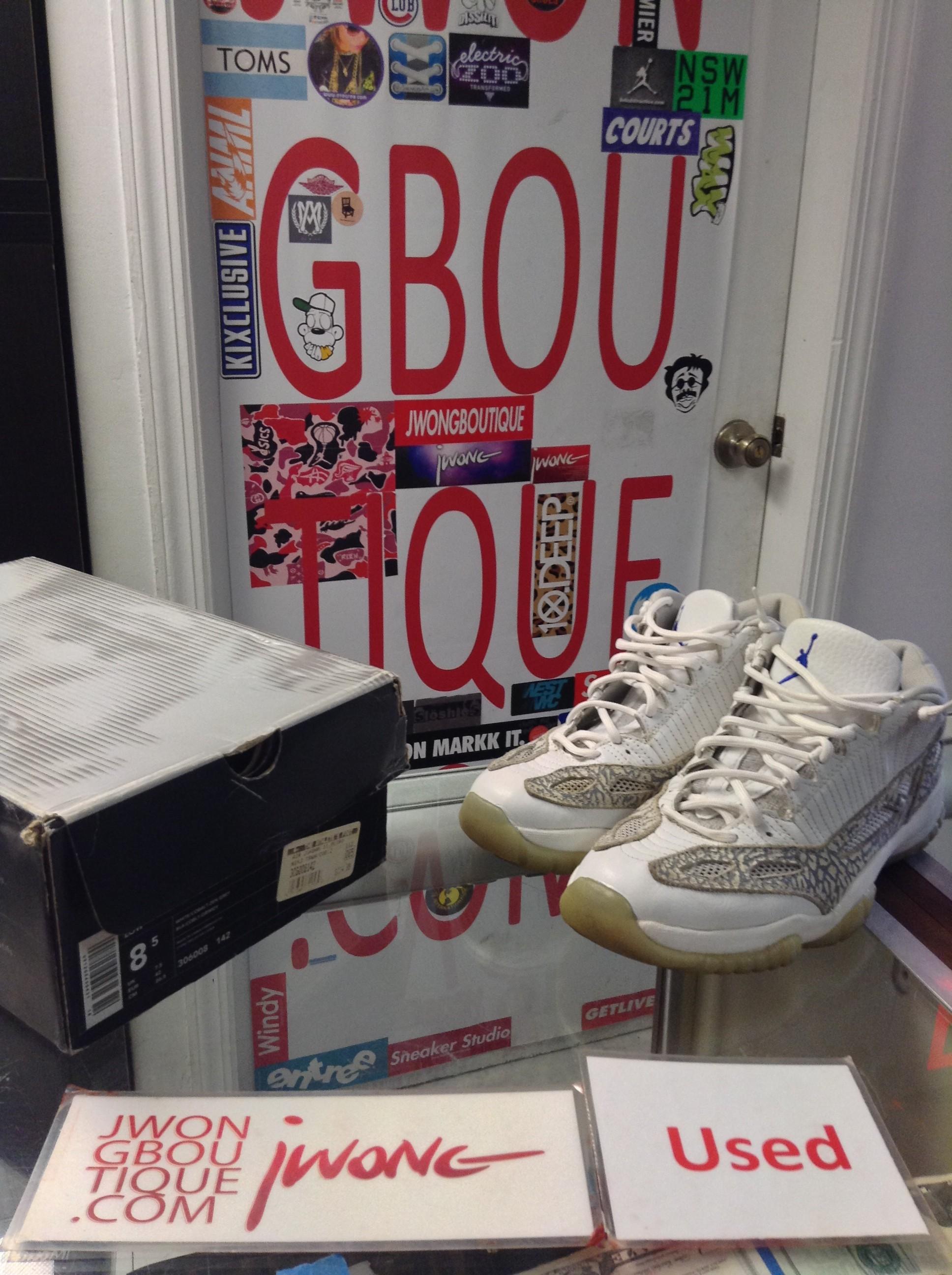 2383f2eea6cb66 2003 Nike Air Jordan XI Cobalt Zen Grey Men