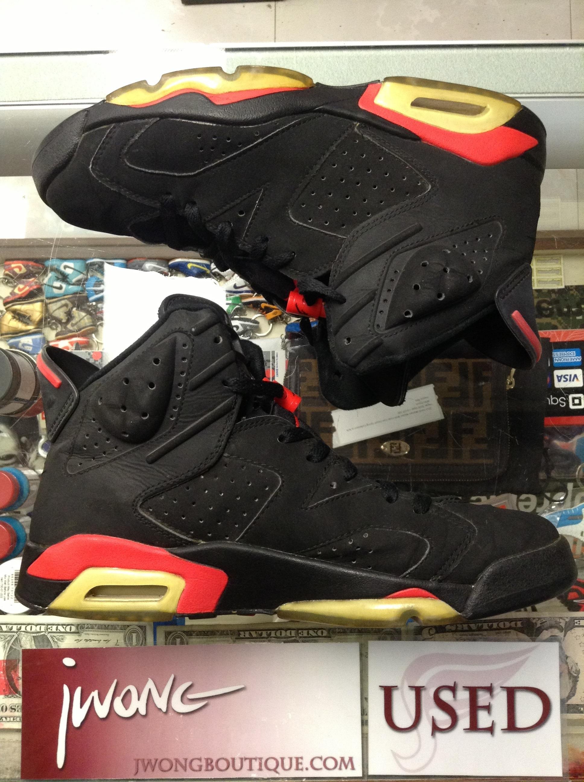 14a67459906299 Jordan 6 Black Infrared 2000 Nike Air