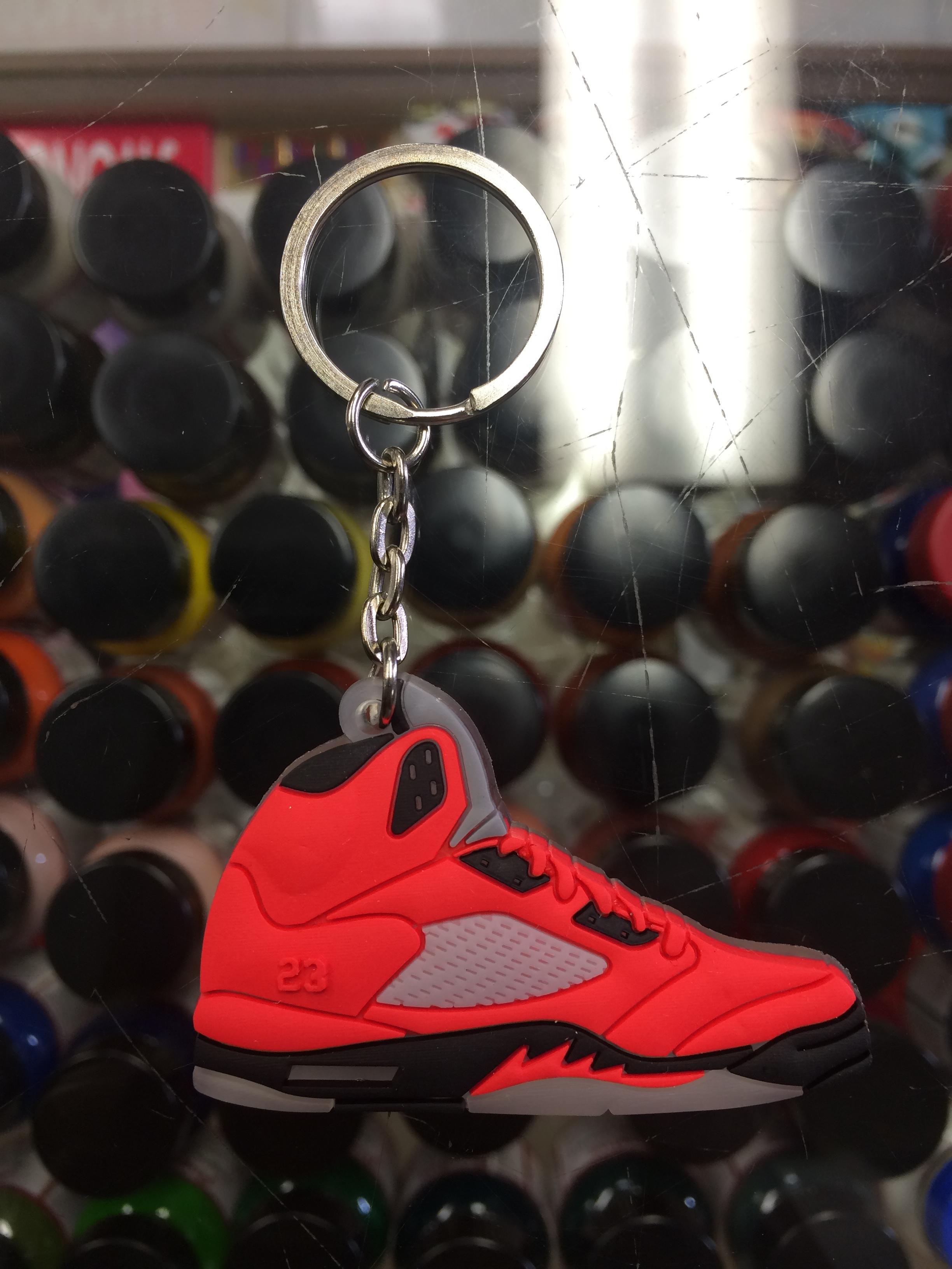 super popular 52b18 166ab 2009 Nike Air Jordan V Raging Bull 2D Keychain