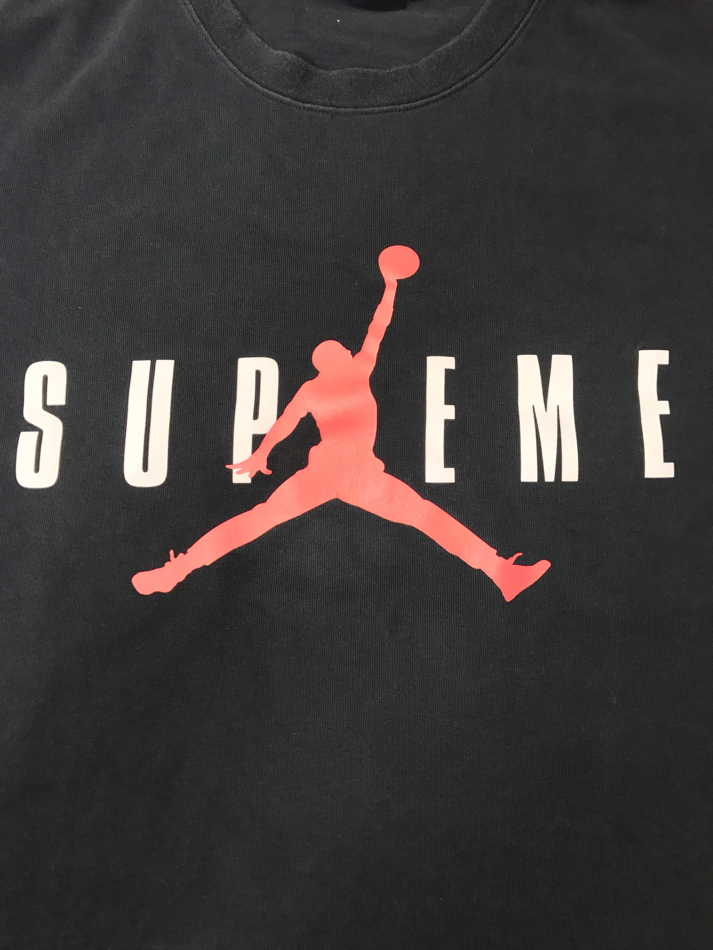 3a2ce132675d8c 2015 Jordan X Supreme Tee Black