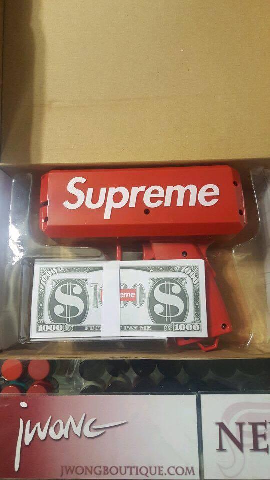 2017 Supreme Money Gun Jwong Boutique