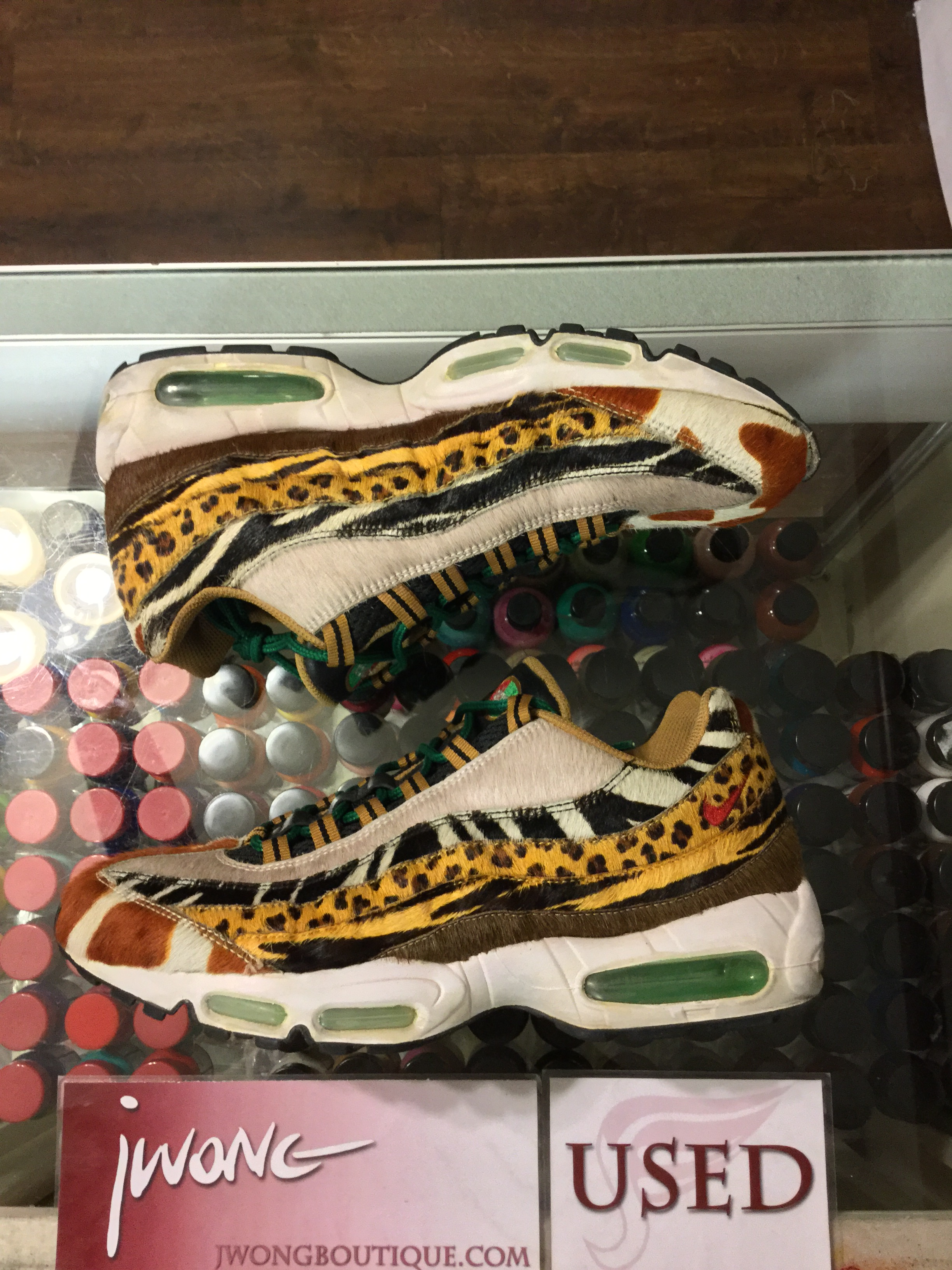 2006 Nike Air Max 95 Supreme Animal Pack Safari  e54802b2e
