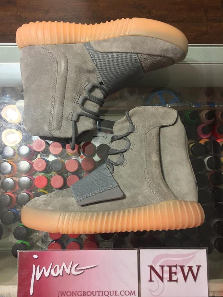 07ea63f08a1 2016 Adidas Yeezy Boost 750 Gum Bottom Youth