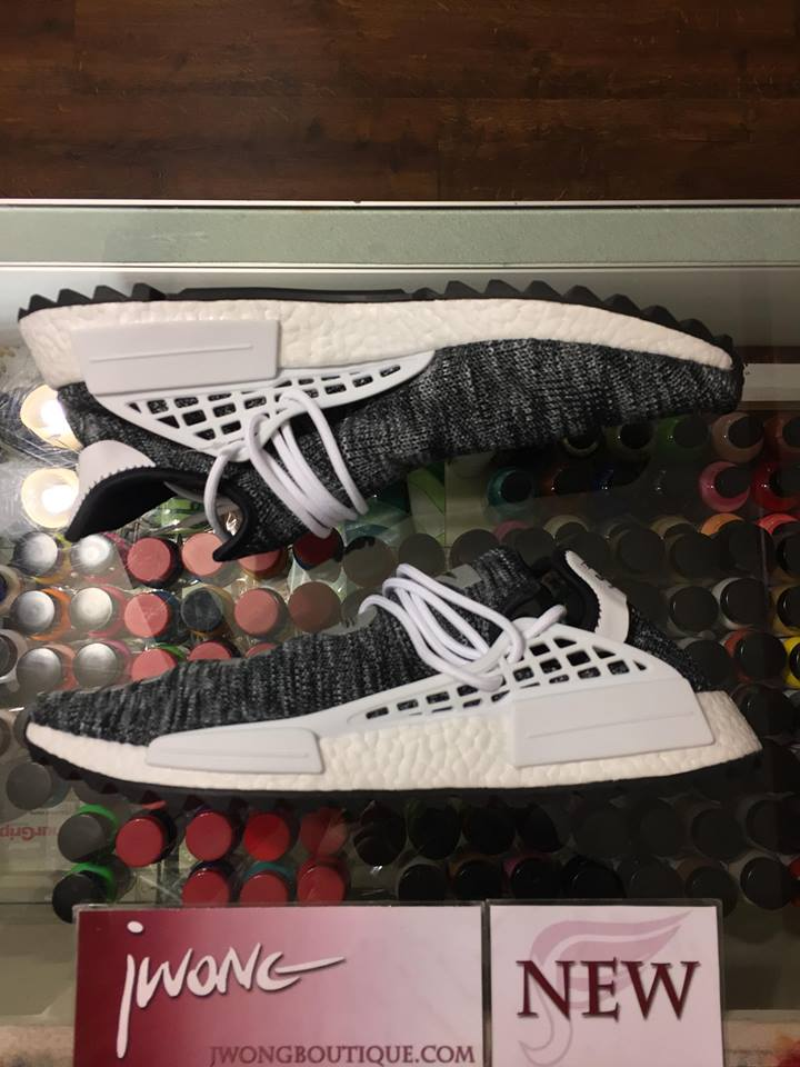 2017 Adidas Pharrell X NMD PW Human Race Trail Oreo  c1072cdcb