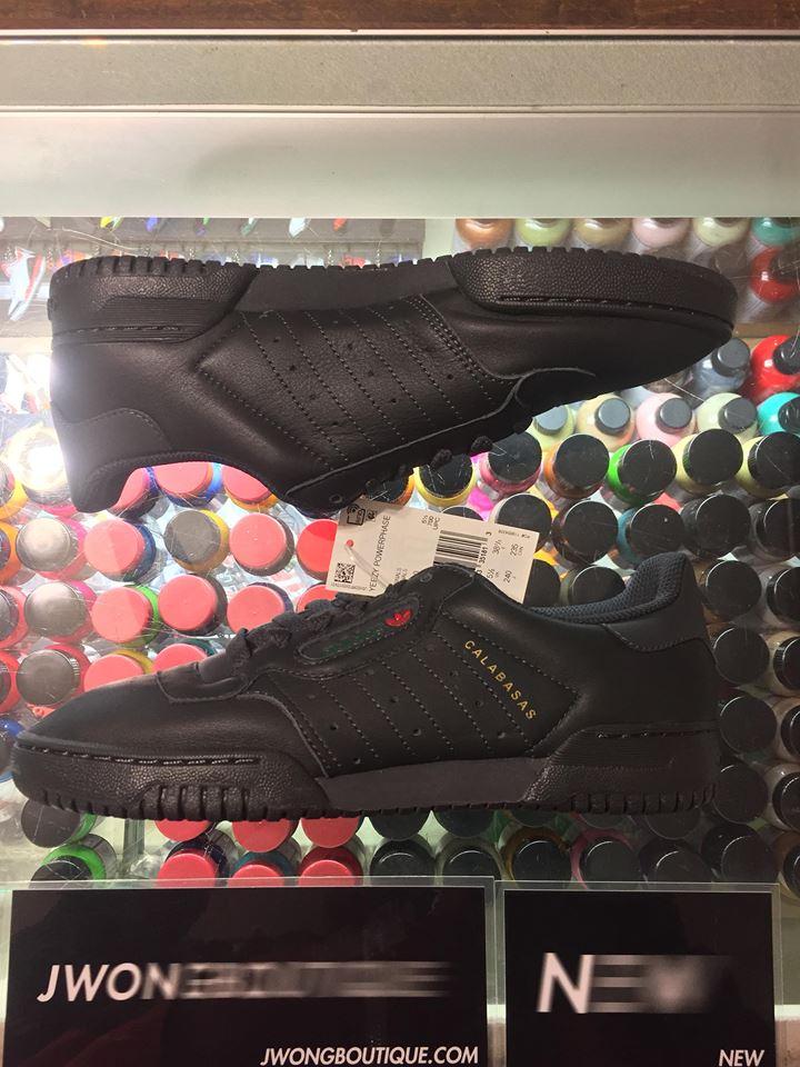 889adccbccdb8 2018 Adidas Yeezy Powerphase Calabasas Black Youth