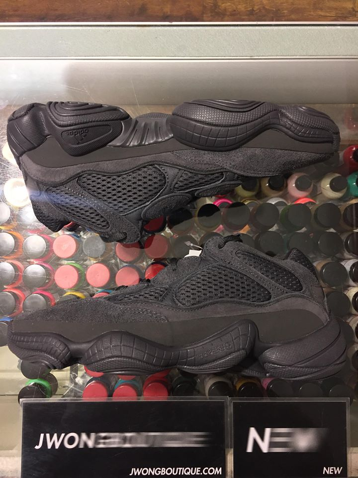 605b1207c3d05 2018 Adidas Yeezy Boost 500 Utility Black Men