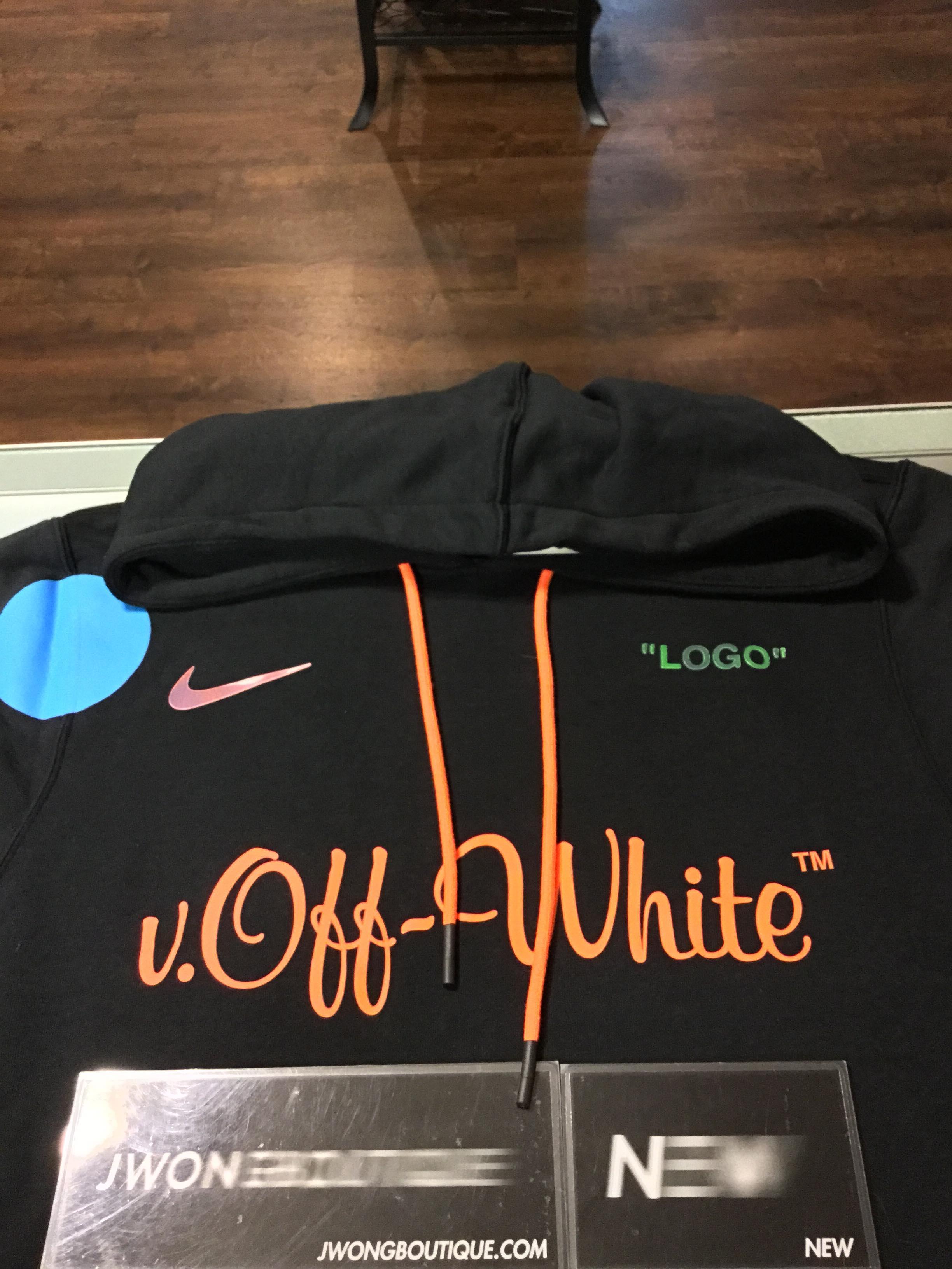 5e65c6c6d82e 2018 Nikelab x Off White Mercurial NRG X Hoodie Black