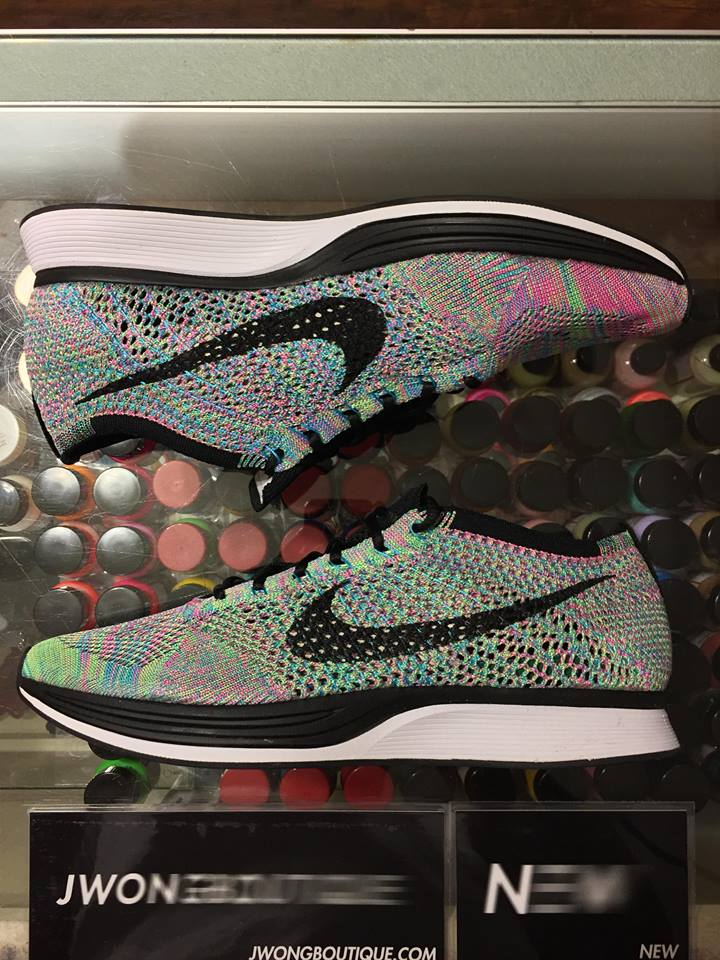 8196373f5117 2017 Nike Flyknit Racer Multicolor 2.0