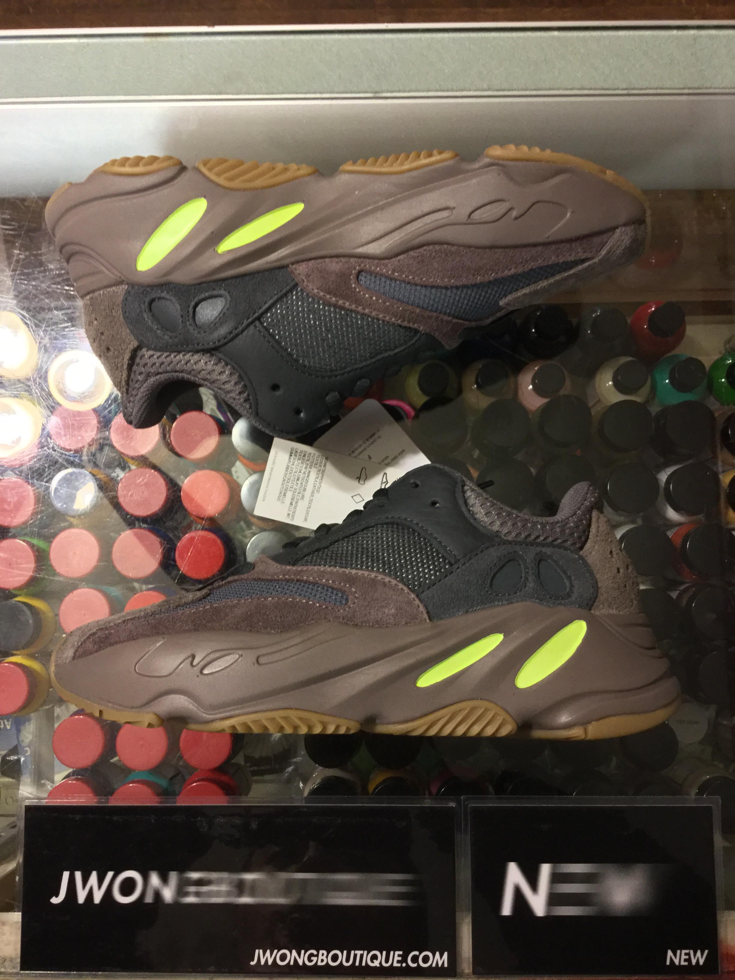 f9c78286181 2018 Adidas Yeezy Boost 700 Mauve Youth