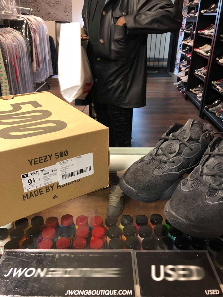 fcbc427ef 2018 Adidas Yeezy Boost 500 Utility Black