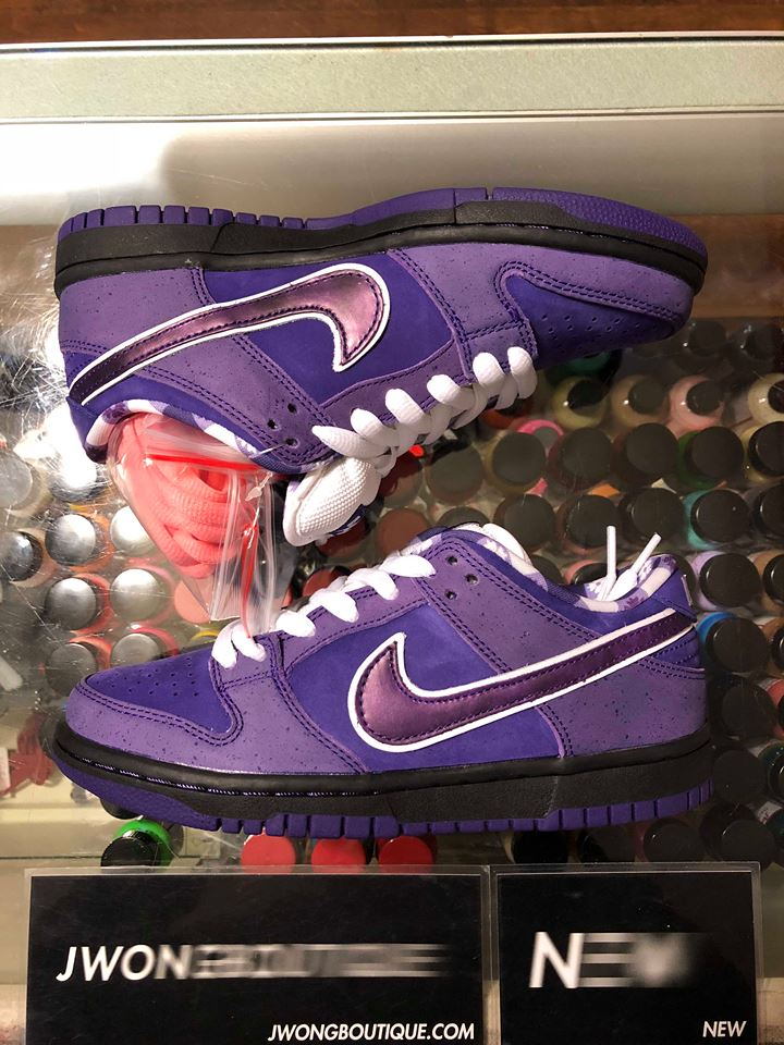 626aa47fb687 2018 Nike SB Dunk Low Concepts Purple Lobster Youth