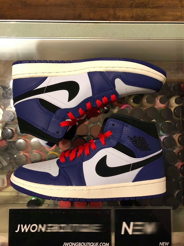 985712a4ccd1c7 2018 Nike Air Jordan I Mid SE Deep Royal Blue