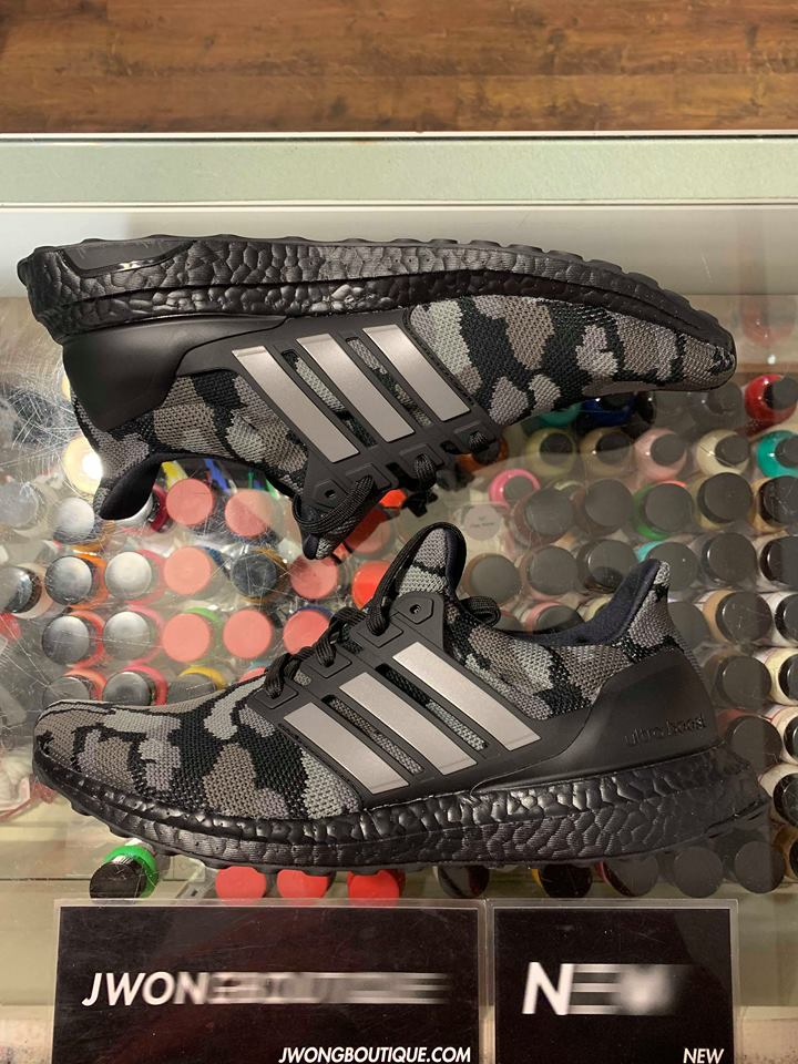 check out 3e7fc 872d8 2019 Adidas Bape Ultra Boost 4.0 Camo Black  Jwong Boutique
