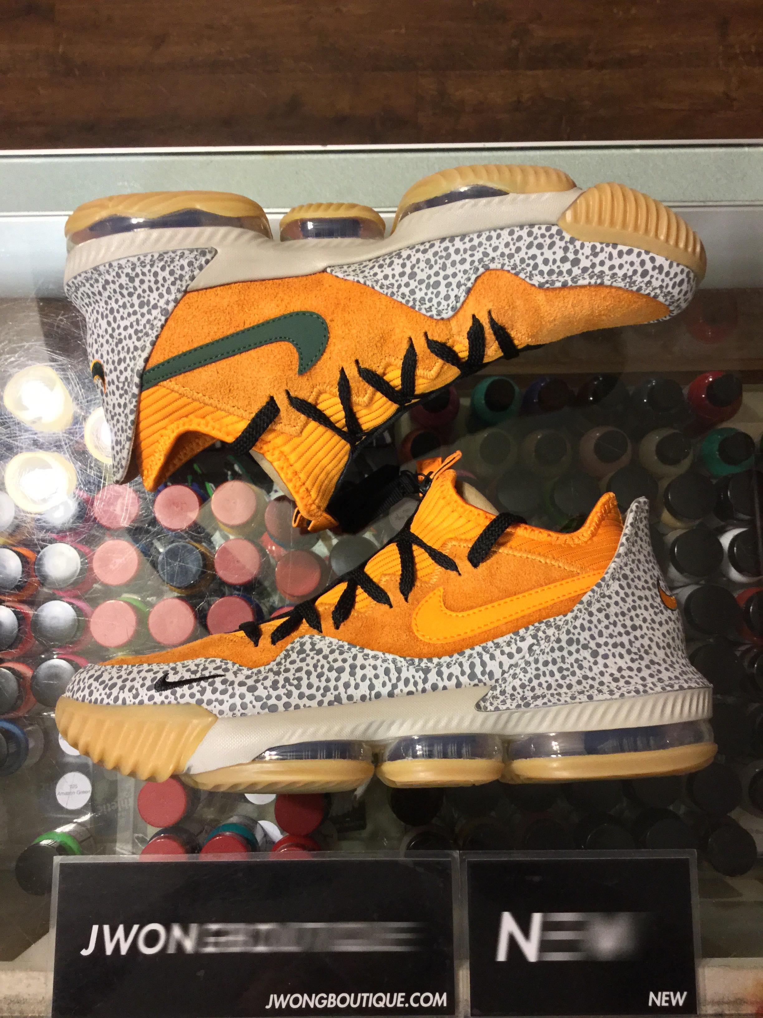 d656174dd99 2019 Nike Lebron XVI Low Atmos Safari