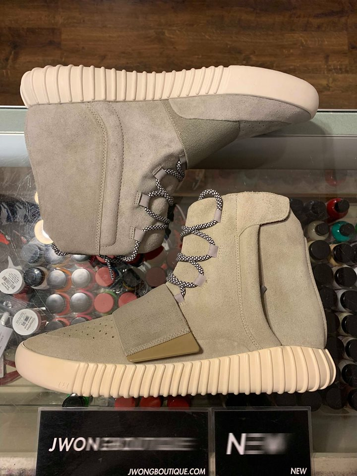 18c3b868c708d 2015 Adidas Yeezy Boost 750 Charcoal White Yellowing