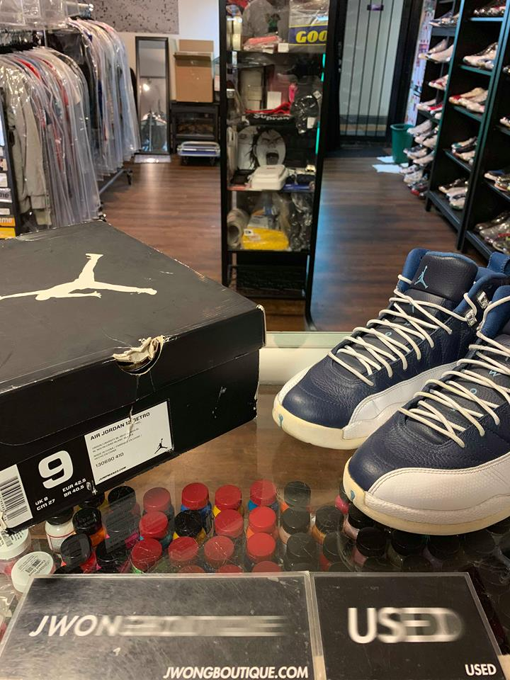 low priced 2cac0 07e7a 2012 Nike Air Jordan XII Obsidian   Jwong Boutique
